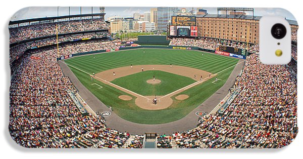 Oriole iPhone 5c Case - Camden Yards Baltimore Md by Panoramic Images