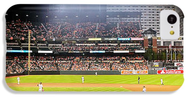Oriole iPhone 5c Case - Camden Yards by Mike Baltzgar