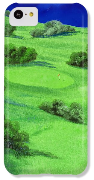 Campo Da Golf Di Notte IPhone 5c Case