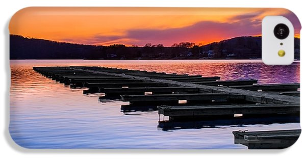 Candlewood Lake IPhone 5c Case by Bill Wakeley