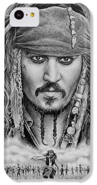 Captain Jack Sparrow IPhone 5c Case