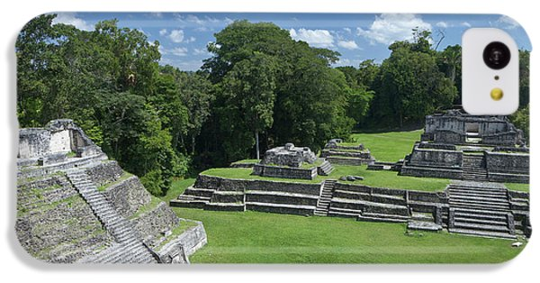 Belize iPhone 5c Case - Caracol Ancient Mayan Site, Belize by William Sutton
