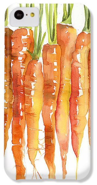 Carrot Bunch Art Blenda Studio IPhone 5c Case by Blenda Studio
