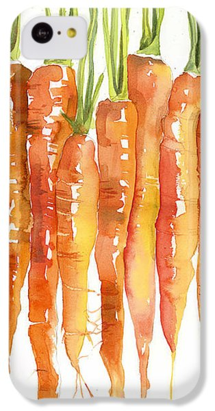 Carrot iPhone 5c Case - Carrot Bunch Art Blenda Studio by Blenda Studio