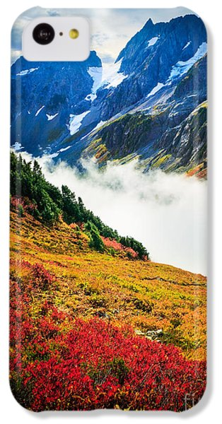Cascade Pass Peaks IPhone 5c Case by Inge Johnsson