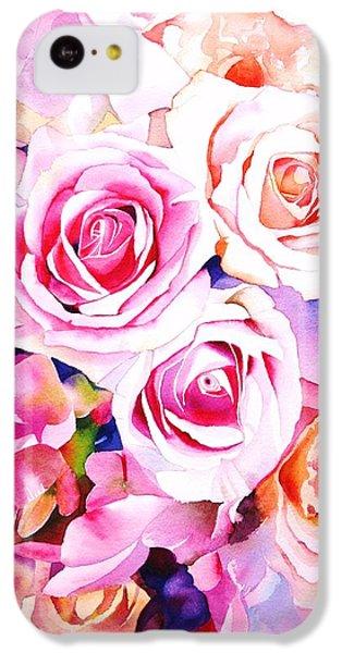 Rose iPhone 5c Case - Cascade by Sarah Bent