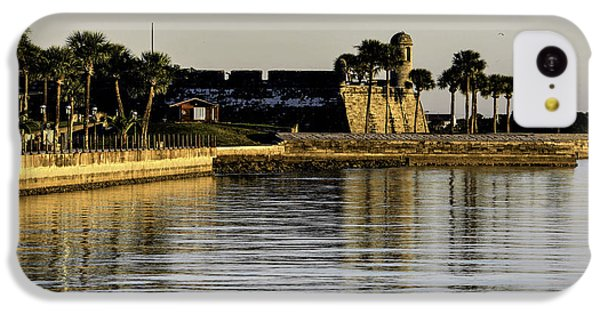 Castillo De San Marcos IPhone 5c Case by Anthony Baatz