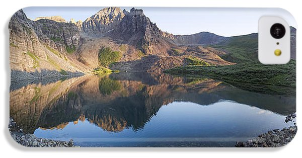 Cathedral Lake Reflection IPhone 5c Case by Aaron Spong