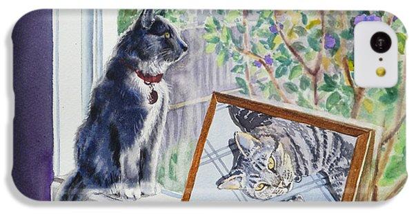 Cats And Mice Sweet Memories IPhone 5c Case by Irina Sztukowski