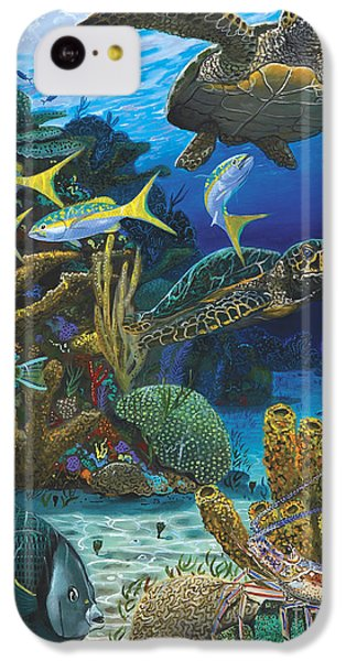 Cayman Turtles Re0010 IPhone 5c Case