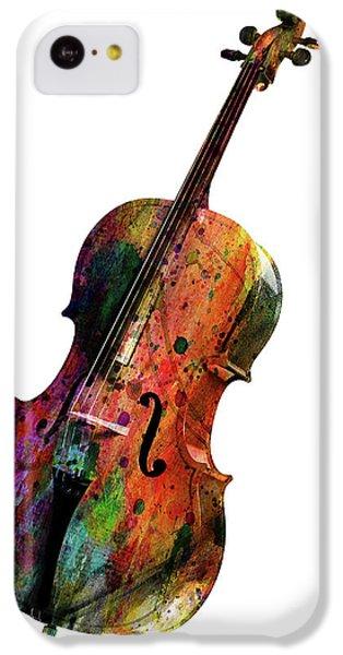 Saxophone iPhone 5c Case - Cello by Mark Ashkenazi