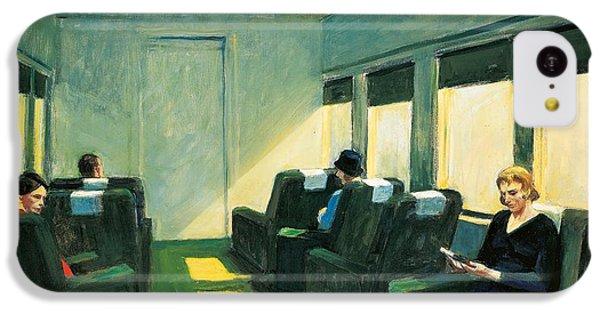 Train iPhone 5c Case - Chair Car by Edward Hopper