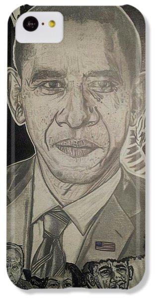 Change Yes We Can IPhone 5c Case by Demetrius Washington