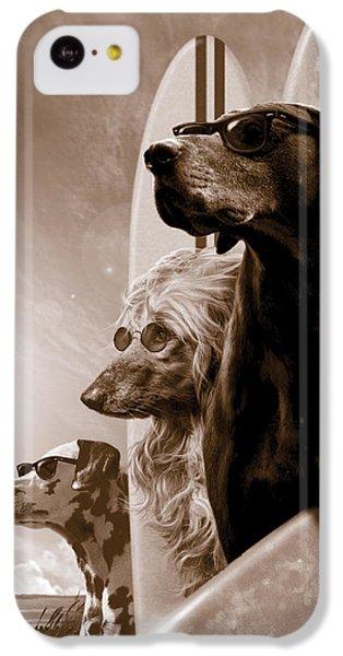 Dog iPhone 5c Case - Changes by Garry Walton