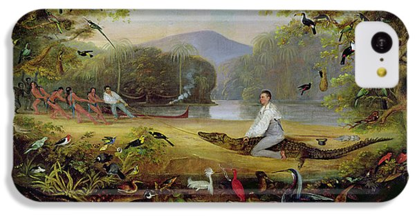 Charles Waterton Capturing A Cayman, 1825-26 IPhone 5c Case