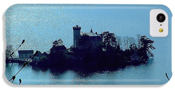 IPhone 5c Case featuring the photograph Chateau Sur Lac by Marc Philippe Joly