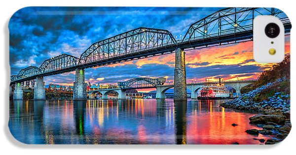Sunset iPhone 5c Case - Chattanooga Sunset 3 by Steven Llorca