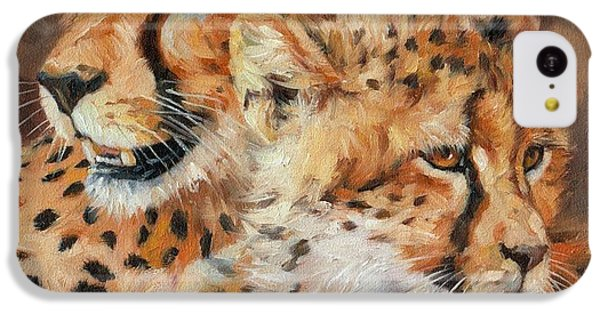 Cheetah And Cub IPhone 5c Case