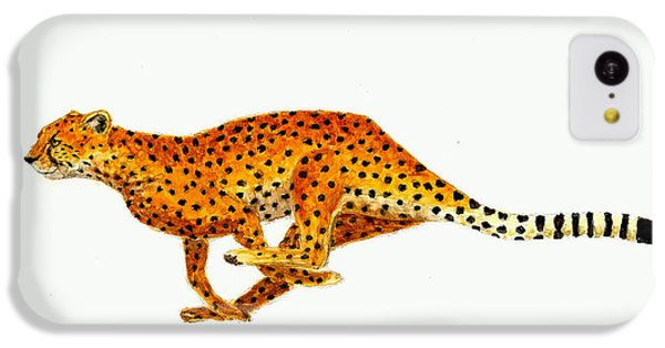 Cheetah IPhone 5c Case by Michael Vigliotti