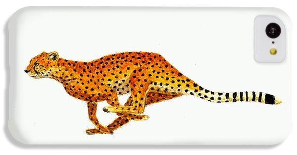 Cheetah iPhone 5c Case - Cheetah by Michael Vigliotti