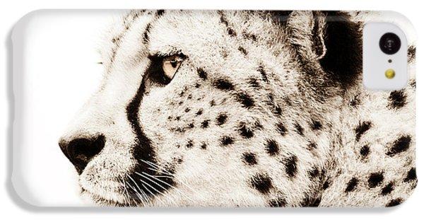 Cheetah iPhone 5c Case - Cheetah by Jacky Gerritsen
