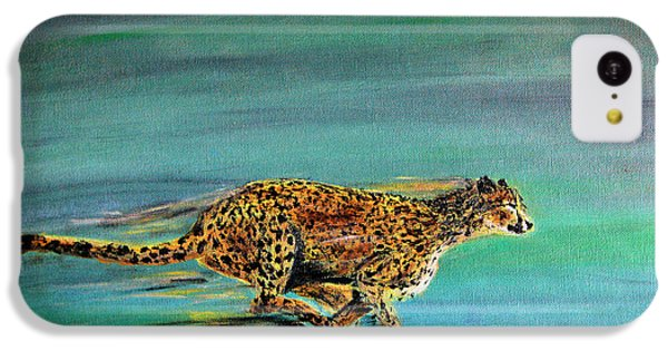 Cheetah Run IPhone 5c Case