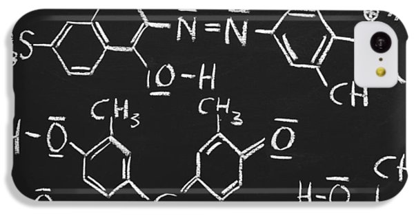 White iPhone 5c Case - Chemical Formulas by Chevy Fleet