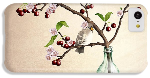 Finch iPhone 5c Case - Cherry Coke by April Moen