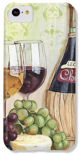 Cocktails iPhone 5c Case - Chianti And Friends by Debbie DeWitt