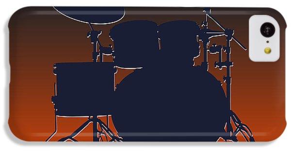 Chicago Bears Drum Set IPhone 5c Case by Joe Hamilton