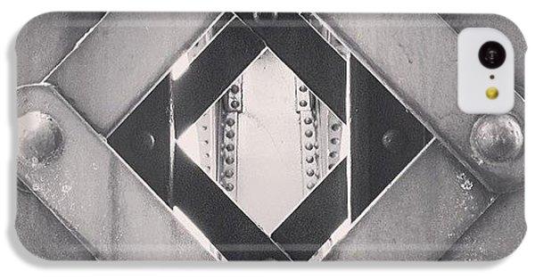 Architecture iPhone 5c Case - Chicago Bridge Iron Close-up Picture by Paul Velgos