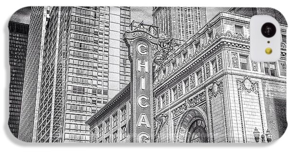 City iPhone 5c Case - #chicago #chicagogram #chicagotheatre by Paul Velgos
