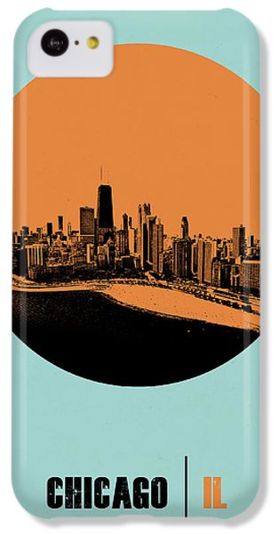 Grant Park iPhone 5c Case - Chicago Circle Poster 2 by Naxart Studio