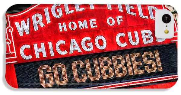 Chicago Cubs Wrigley Field IPhone 5c Case by Christopher Arndt