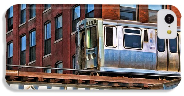 Chicago El And Warehouse IPhone 5c Case by Christopher Arndt