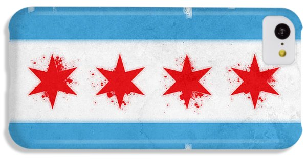 Chicago Flag IPhone 5c Case