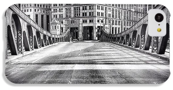 City iPhone 5c Case - #chicago #hdr #bridge #blackandwhite by Paul Velgos