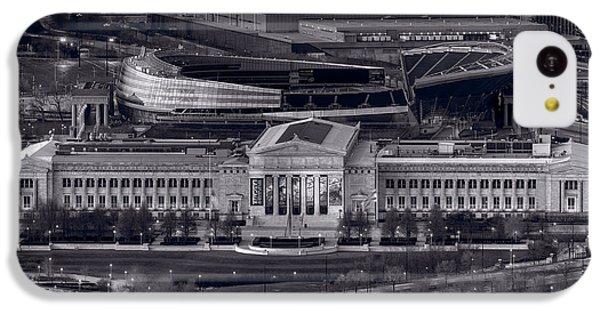 Chicago Icons Bw IPhone 5c Case by Steve Gadomski