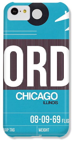 Chicago Luggage Poster 1 IPhone 5c Case