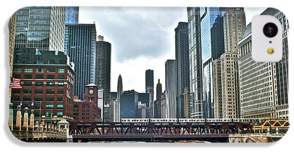 Chicago River And City IPhone 5c Case