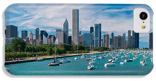 Chicago Skyline Daytime Panoramic IPhone 5c Case by Adam Romanowicz