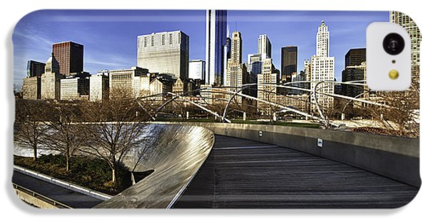 Chicago Skyline At Sunrise IPhone 5c Case by Sebastian Musial