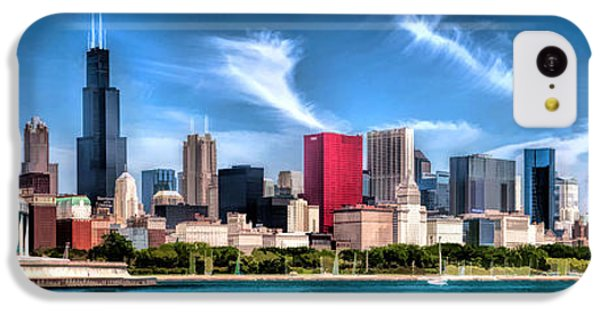 Chicago Skyline Panorama IPhone 5c Case by Christopher Arndt