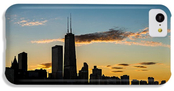 Chicago Skyline Silhouette IPhone 5c Case