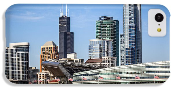 Chicago Skyline With Soldier Field And Sears Tower  IPhone 5c Case by Paul Velgos