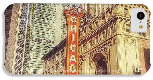 City iPhone 5c Case - Chicago Theatre #chicago by Paul Velgos