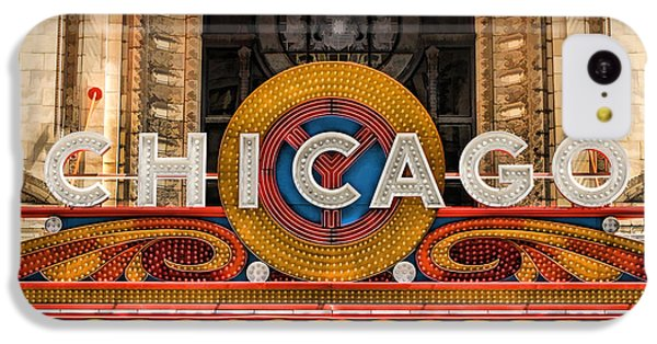 Chicago Theatre Marquee Sign IPhone 5c Case by Christopher Arndt