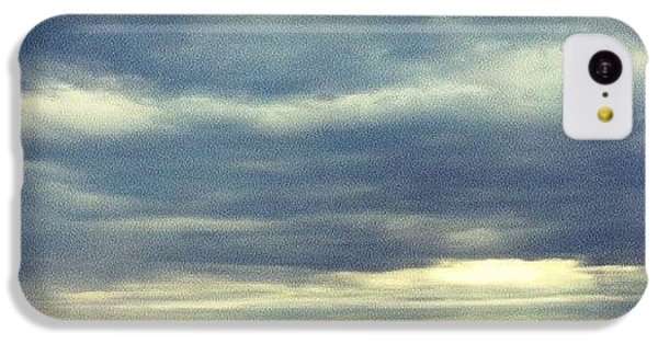 Sky iPhone 5c Case - Chilly Morning by Jill Tuinier