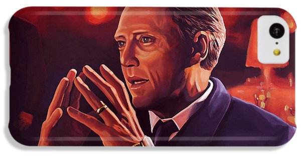Christopher Walken Painting IPhone 5c Case