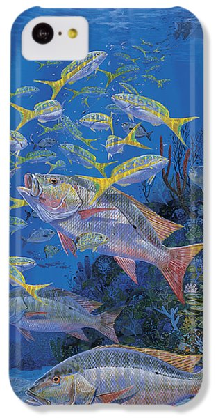 Chum Line Re0013 IPhone 5c Case by Carey Chen